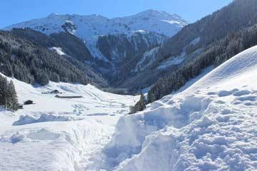 Aussicht Hütte Kelchsau