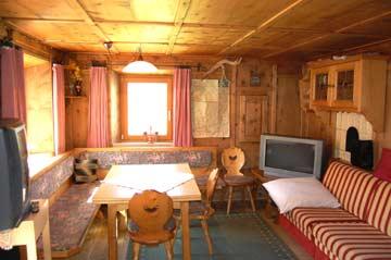 Die gemütliche Bauernstube im Ferienhaus Kaunertal