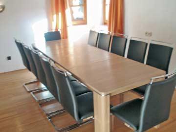 Ferienhaus Zugspitze - Esstisch