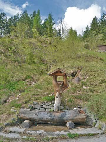 Brunnen am Ferienhaus