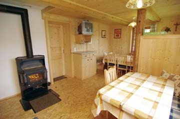 Skihütte Mayrhofen - Skihüttenurlaub in Mayrhofen. Herrlich gemütliche und komfortable Hüttenstube