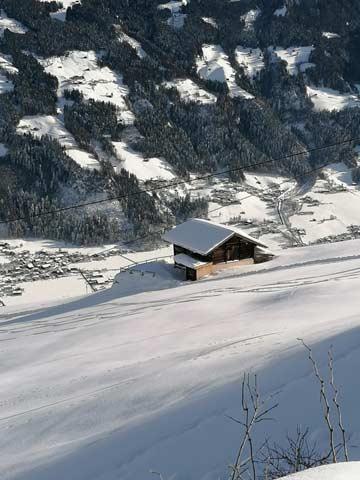 Skihütte Mayrhofen - Skihüttenurlaub in Mayrhofen