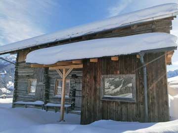 Winteridylle bei Mayrhofen im Zillertal: weitere Hausan- und aussichten