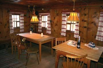Gemütliche Tiroler Bauernstube