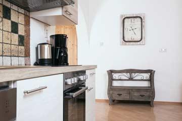Küche im Untergeschoss
