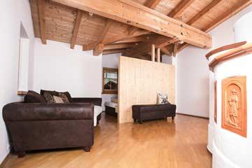 Wohnraum im Obergeschoss