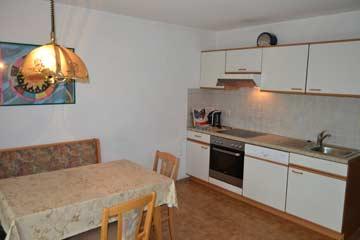 Küche im Ferienhaus Kaltenbach Zillertal