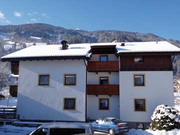 Ferienhaus Kaltenbach Zillertal - weitere Hausansicht Winter