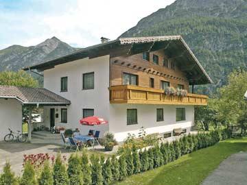 weitere Hausansicht Ferienhaus Lechtal