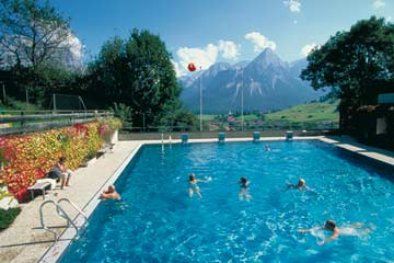 Panoramabad Lermoos, Foto: Tiroler Zugspitzarena