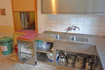 Spülmaschine in der Küche