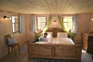 Blick in die Schlafzimmer: der -Masterbedroom-