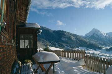 Skihütte Au-Schoppernau: komfortabler Hüttenurlaub im Bregenzerwald
