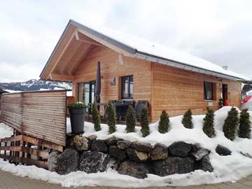 Familienfreundliches Chalet mit Sauna im Kleinwalsertal