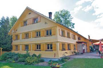 Ferien mit der Familie und Freunden im Bregenzerwald an der Grenze zum Allgäu