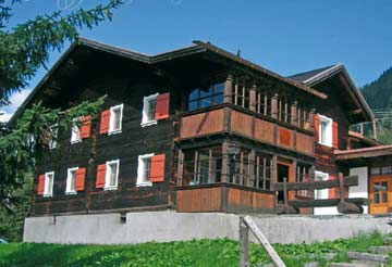 die Skihütte Silvretta Montafon im Sommer