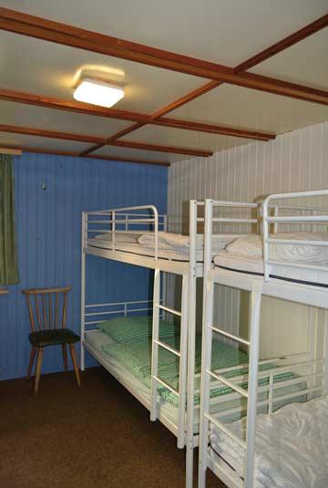 4-Bett-Zimmer im 1. OG