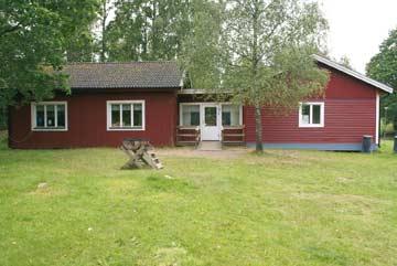 Ferienhaus Alljungen See, ein typisch schwedisches Holz-Blockhaus