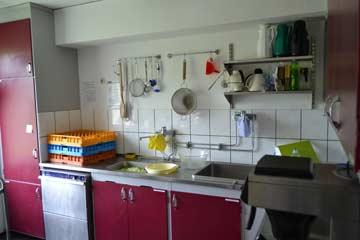 ausgestattete Küche