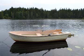 das Ruderboot kann genutzt werden