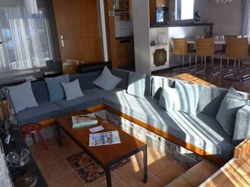 Sitzgruppe im Wohnraum