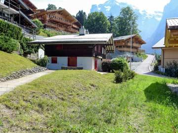 Chalet Grindelwald mit Blick auf Eigernordwand