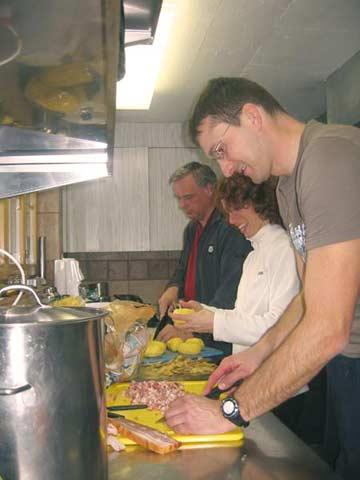 Fleissige Köche (Kundenfoto)