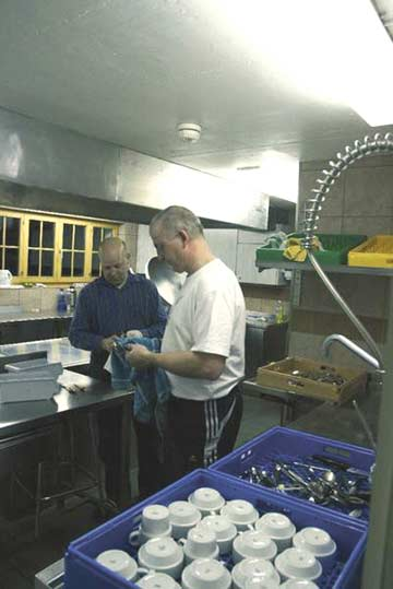 in der Küche (Kundenfoto)