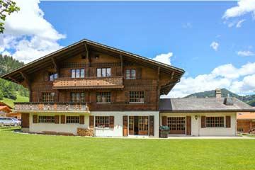 Gruppenhaus Gsteig bei Gstaad - Sommerfreizeit im Berner Oberland