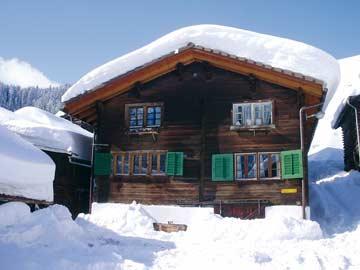 Ferienhaus Curaglia bei Disentis - Wintermärchen am Lukmanier-Pass
