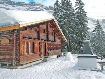 Skihütte Flims - unsere Skihütte wie aus dem Bilderbuch