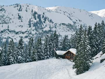 weitere Impressionen der Skihütte Flims
