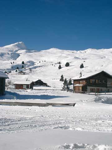 Aussicht von der Skihütte (Kundenfoto)