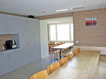 Speise- und Aufenthaltsraum (Kaffeemaschine gehört nicht zur Hausausstattung)