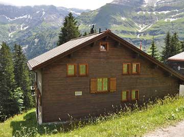Berghütte Elm auf 1470 m