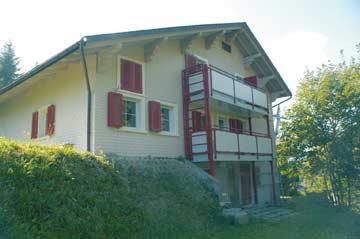 Skihütte Flumserberg-Tannenheim im Sommer