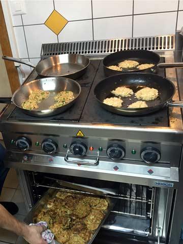 Gastroherd in der Küche (Kundenfoto)