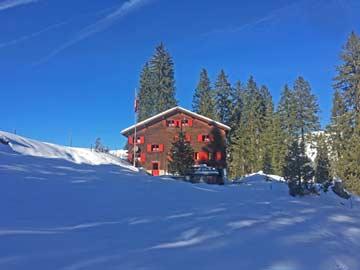 Skihütte Alt St. Johann - mitten im Skigebiet Toggenburg (Kundenfoto)