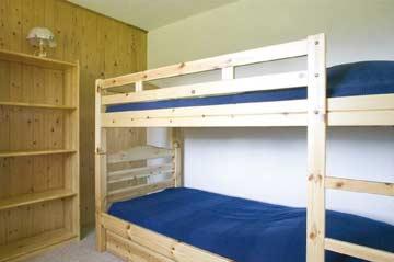 Schlafzimmer 4: das Etagenbett-Zimmer