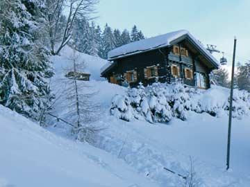 Ferienhaus Skipiste Nendaz - Skiurlaub Les 4 Vallées direkt an der Talabfahrt