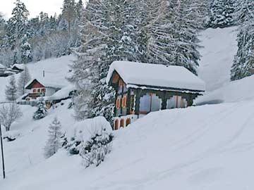 Ferienhaus Skipiste Nendaz - Wintermärchen im Wallis