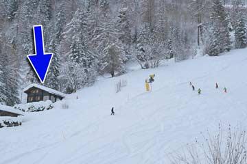 Ski in - Ski out: mit den Skiern vom Chalet zur Skipiste und wieder zurück