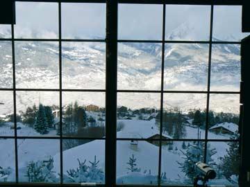 nochmals zum Beweis: die herrliche Aussicht durch die Panoramaverglasung