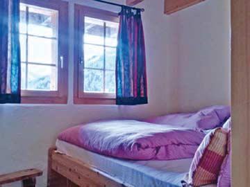 Blick in die Schlafzimmer