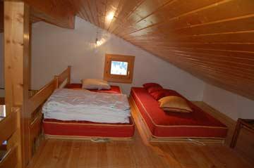 2 Schlafplätze auf der Galerie