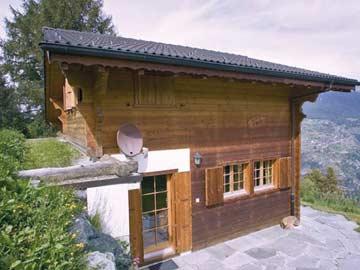 Toll gelegenes Chalet mit Sauna in Les Collons