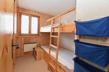 Schlafzimmer 3 - Etagenbett