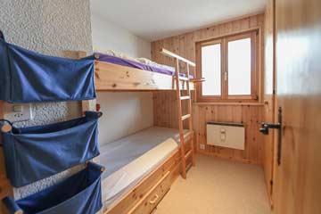 Schlafzimmer 4 - Etagenbett