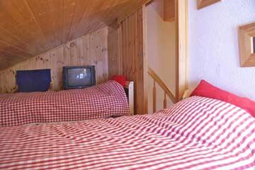 Mezzanine 1 - Schlafmöglichkeit für 2 Personen