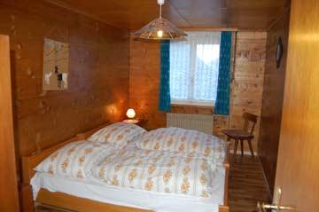 Blick in die Schlafzimmer (im älteren Teil des Gebäudes)